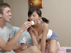 Plástica de la chica en el sexo porno más bellas
